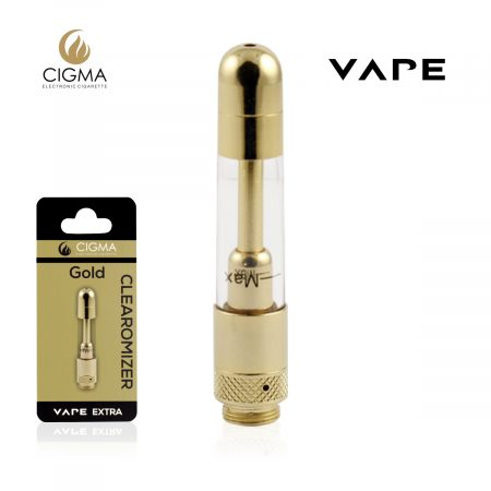 Cigma vape gold clearomizer for extra
