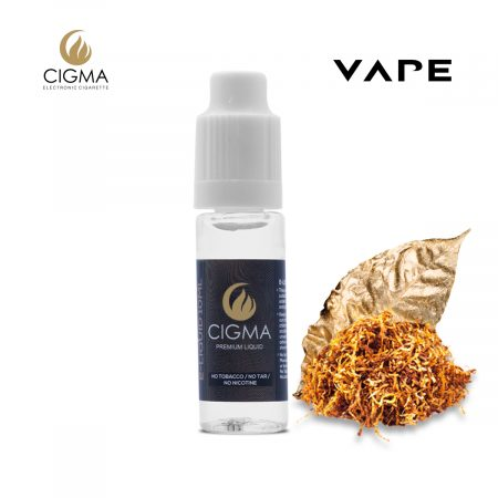 Cigma 10 ml e liquid gold tabak 18mgml