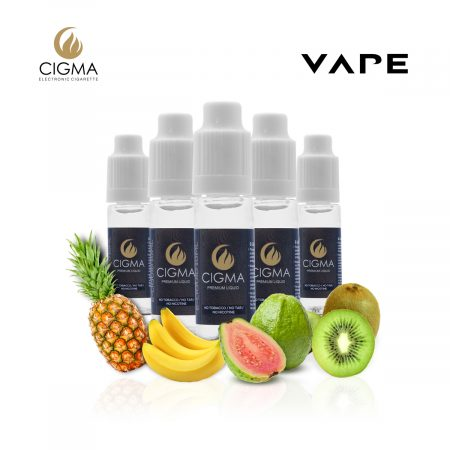 5 pack tropical fantasy mix e-liquide