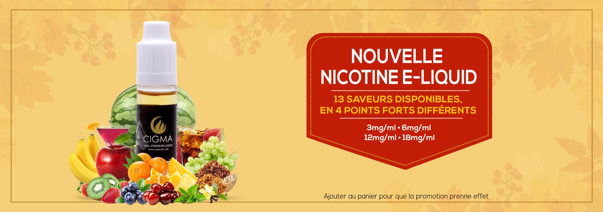 Nicotine eliquids