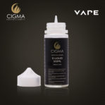 Cigma 100ml Caramel au beurre 0mg E-liquide - Bouteilles Shortfill sans nicotine - Eliquide Pour E-shisha et E-cigarettes